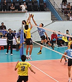 Great efforts of Sanest Khanh Hoa volleyball team