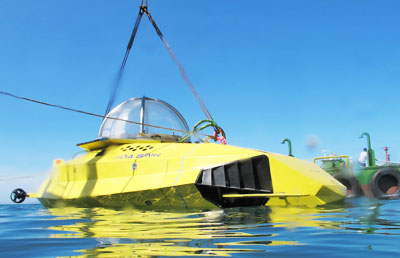 First locally-made submersible