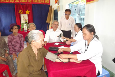 Wide variety of elderly care