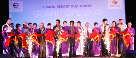 Grand opening of Fusion Resort Nha Trang
