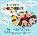 Funny buffet party on June 1 at StarCity Nha Trang