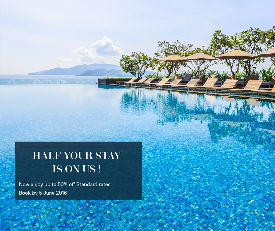 50% off stay at Sheraton Nha Trang