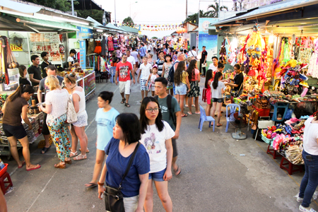 Night markets in Nha Trang