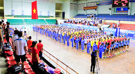 2016 National Junior Volleyball Tournament held in Khanh Hoa