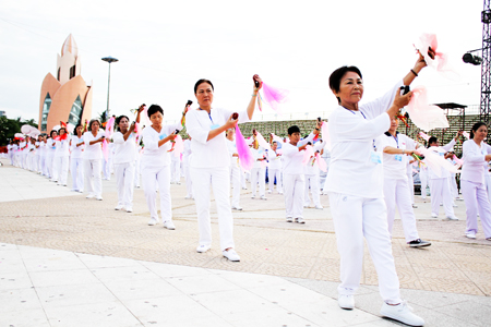 Development of movement sports and physical exercise in Khanh Hoa