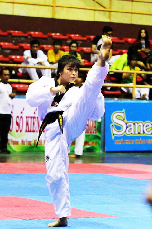 Positive sign for Khanh Hoa's taekwondo