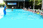 Summer swimming classes, practical playground for children