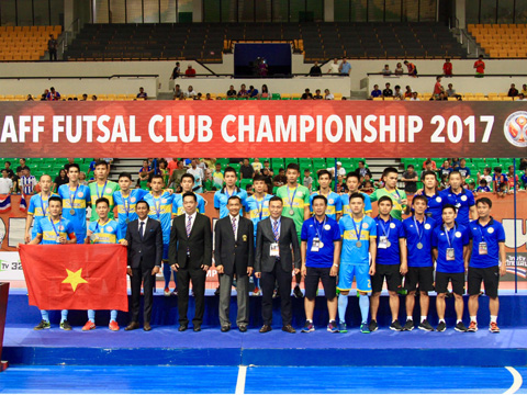 Vietnam's representative loses in final game of AFF Futsal Club Championship 2017