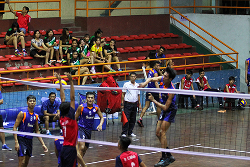 National Junior Tournament for Volleyball Clubs is taking