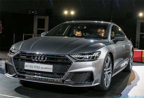 Audi A7 Sportback 2018 - coupe thể thao mới giá từ 81.100 USD