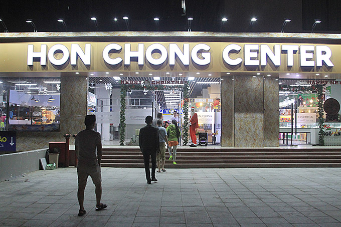 Hon Chong Center, new big shopping mall in Nha Trang