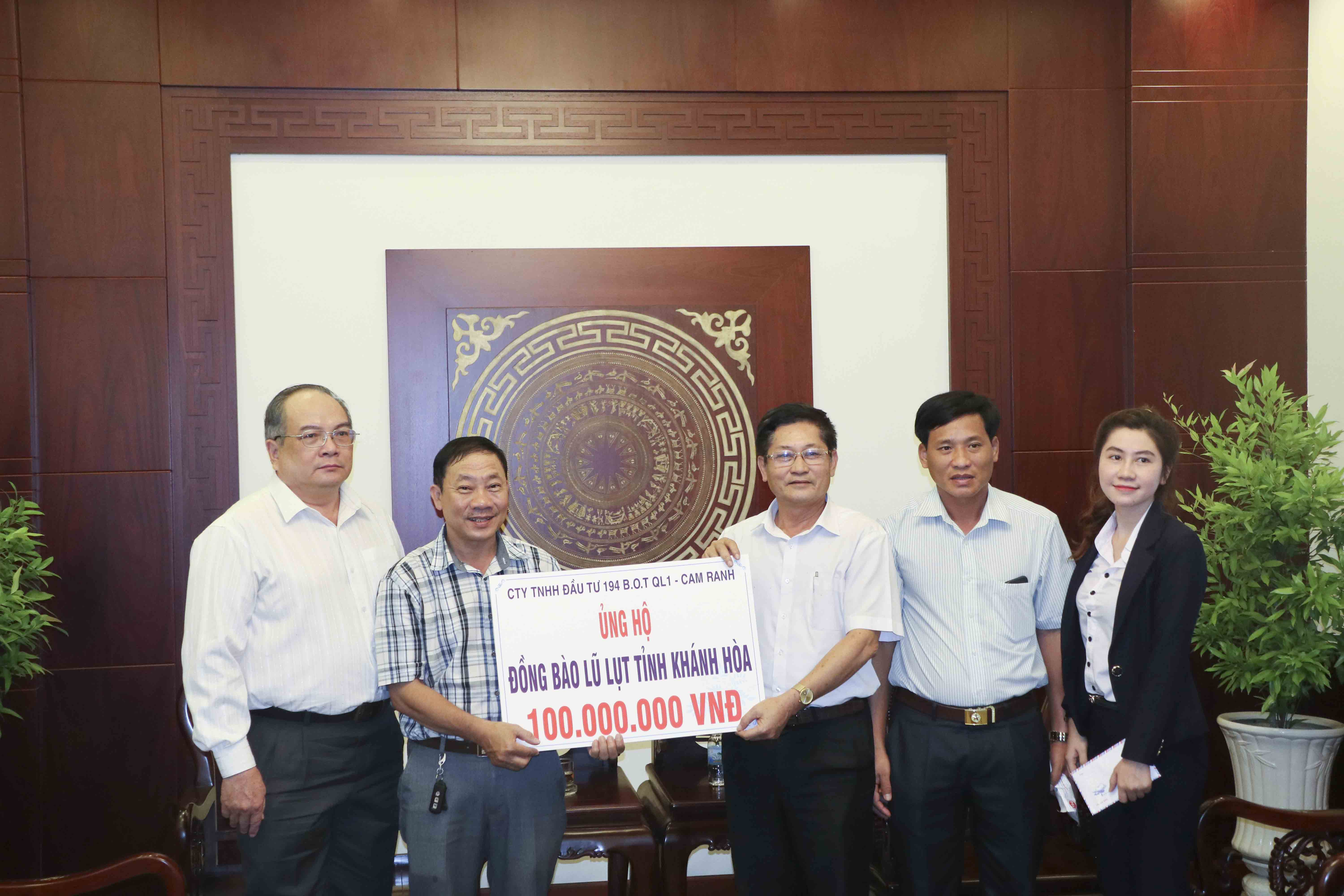 VND100m aid for Typhoon Damrey victims