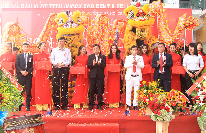Opening ceremony of Hon Chong Center
