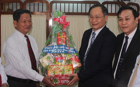 Christmas greetings to Khanh Hoa Protestant Church Representative Board