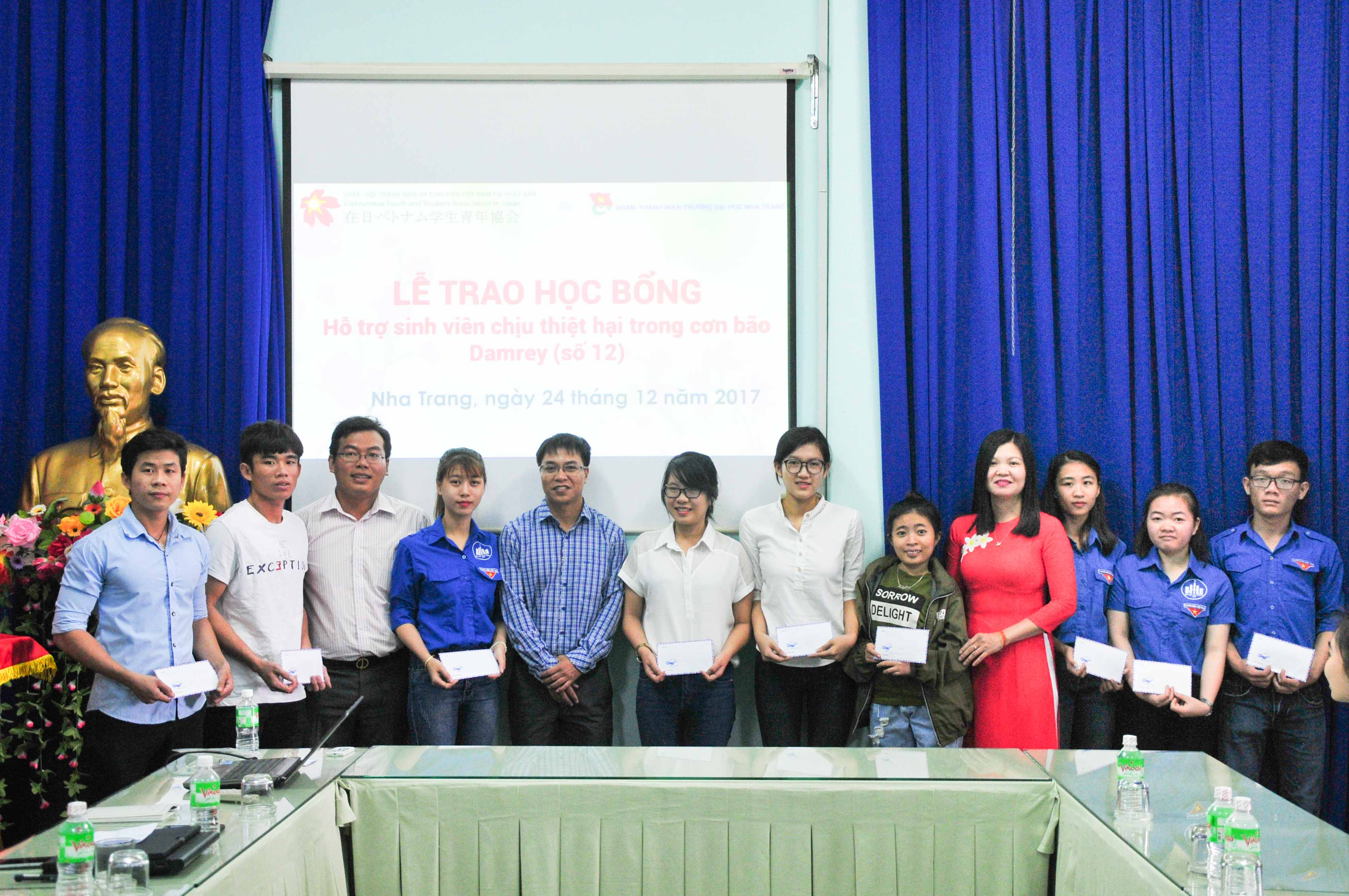 23 scholarships offered to Typhoon Damrey affected students