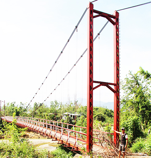 Suspension bridges to be repaired