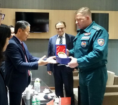Belarus delivers 40 tons of humanitarian relief to Vietnam