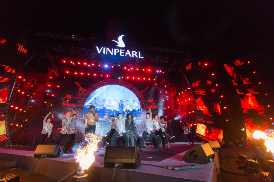 Boney M. impressed by Vinpearl Land