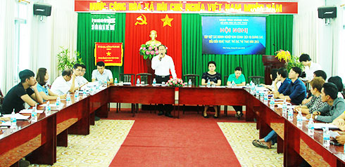 Khanh Hoa Provincial Department of Culture and Sports meets with businesses
