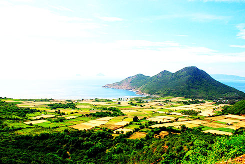 A view of Ninh Van