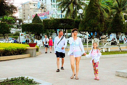 Russian tourists to Khanh Hoa rise slightly