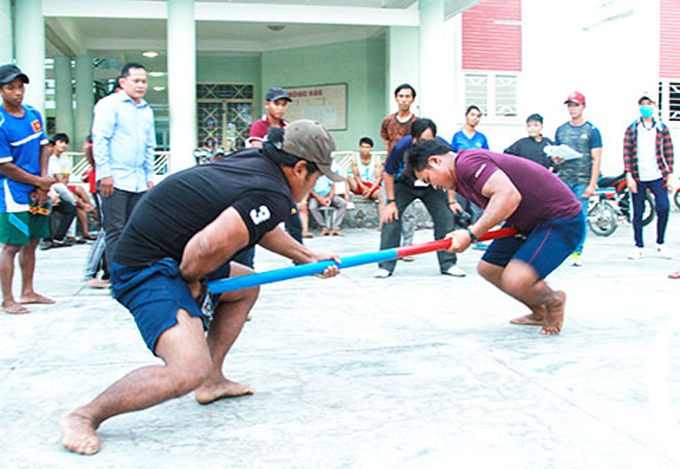 Folk games, a cuural feature of Raglai people