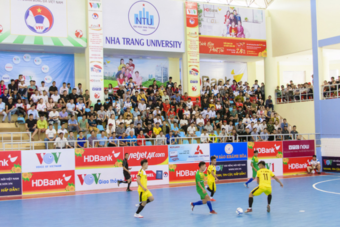 Khanh Hoa's team books early spot in finals of National Futsal Championship 2019