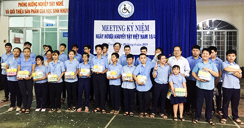 Vietnamese Day of Persons with Disabilities marked