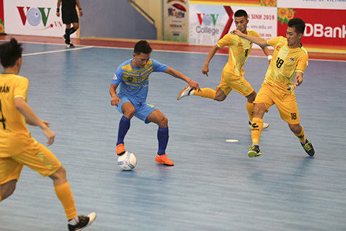 National Futsal Championship – HDBANK 2019: Sanvinest Sanna Khanh Hoa has second consecutive win