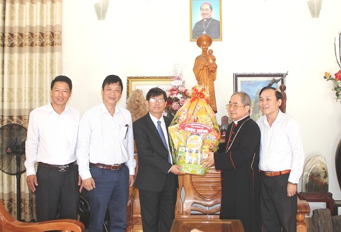 Easter visit to Nha Trang Diocese Bishop's House