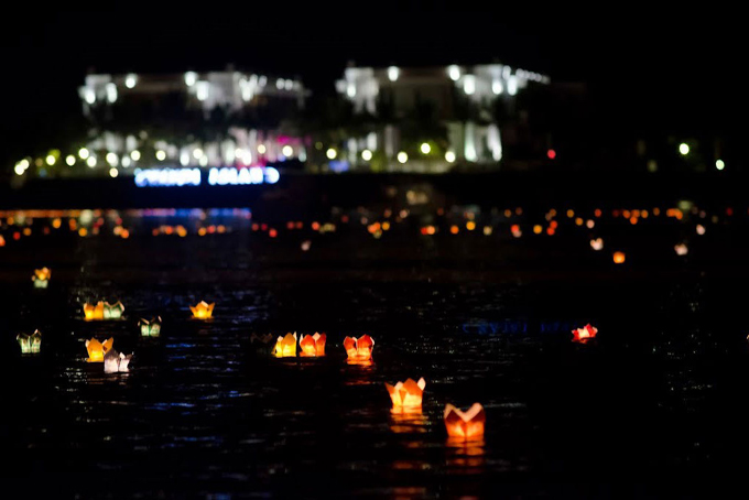 Floating flower light festival to be held at Champa Island Nha Trang