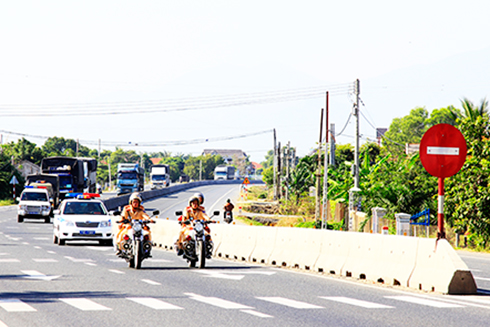 Traffic Safety boost during April 30 holiday