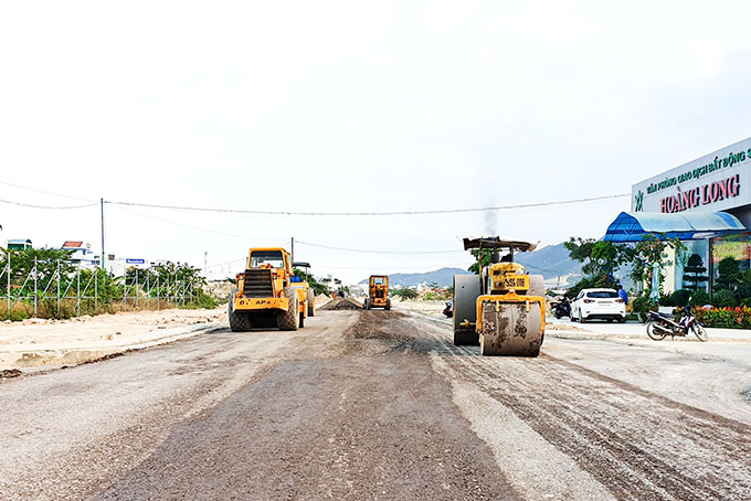 Project on 2nd phase Road No. 4 accelerated