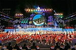 Color of opening ceremony of Visit Vietnam Year 2019 and Nha Trang-Khanh Hoa Sea Festival 2019