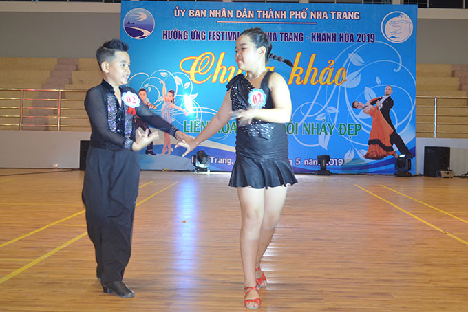Couple dancing competition of Sea Festival 2019
