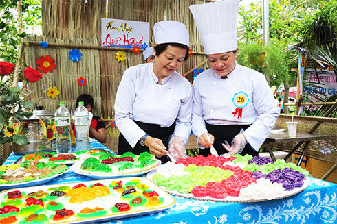 Unique traditional culinary competition