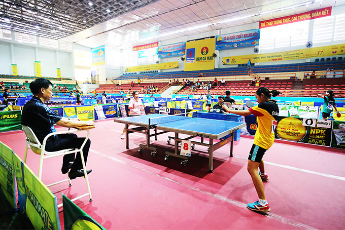 148 players join National Table-tennis Championship 2019 in Nha Trang