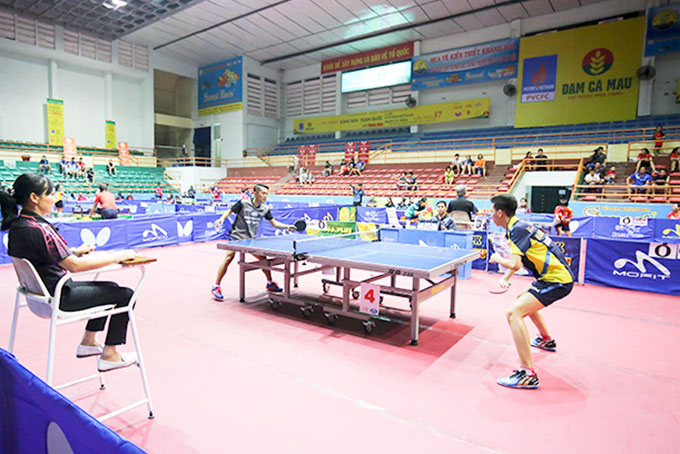 Good players meet at National Table-tennis Championship 2019