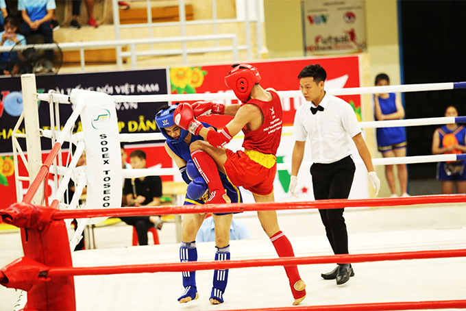 Excellent resus of Khanh Hoa's muay Thai team at national club competition