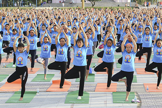 Mass yoga session to be held in Nha Trang