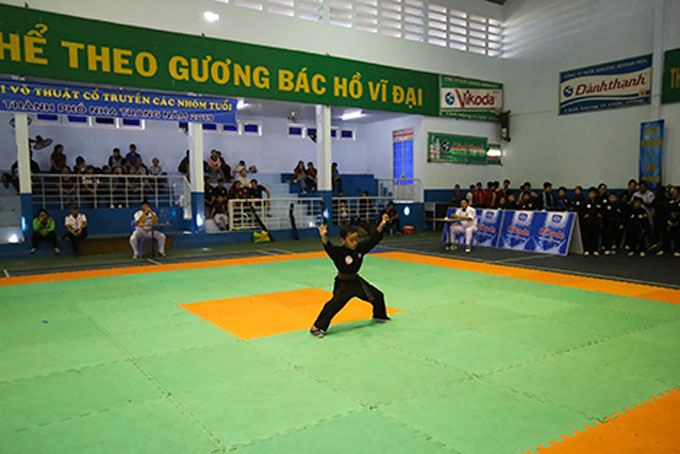 Over 120 players competed at Nha Trang's traditional martial art contest