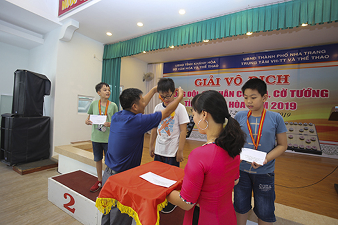 Nha Trang finishes first at Khanh Hoa's chess and Chinese chess championships 2019