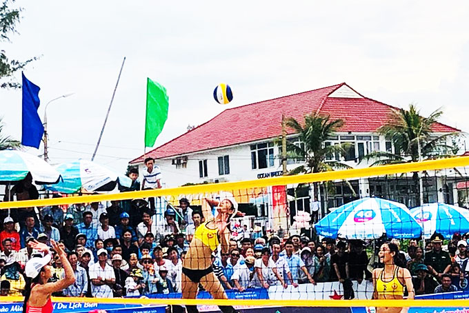 Khanh Hoa athletes win gold and silver at International Women's Beach Volleyball Tournament