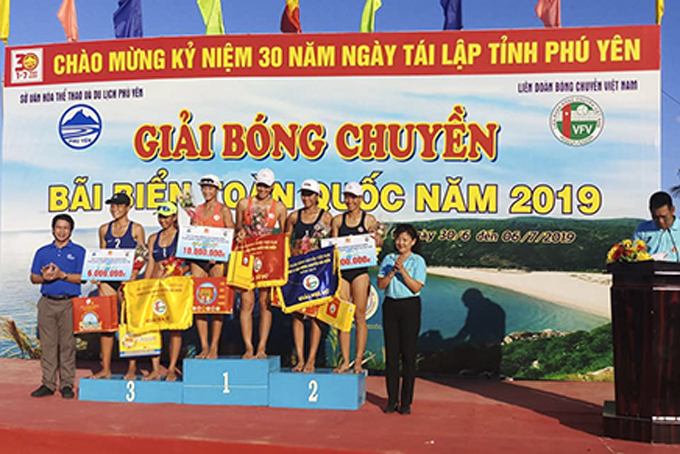 Khanh Hoa's teams place first in men's and women's events