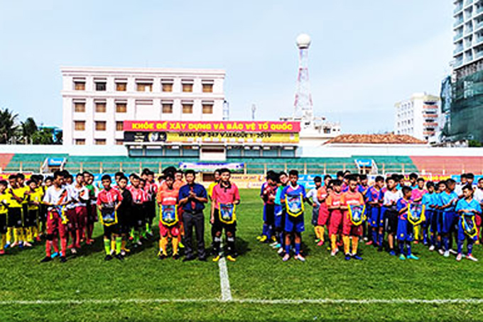 Khanh Hoa's U-13 football contest 2019 kicks off