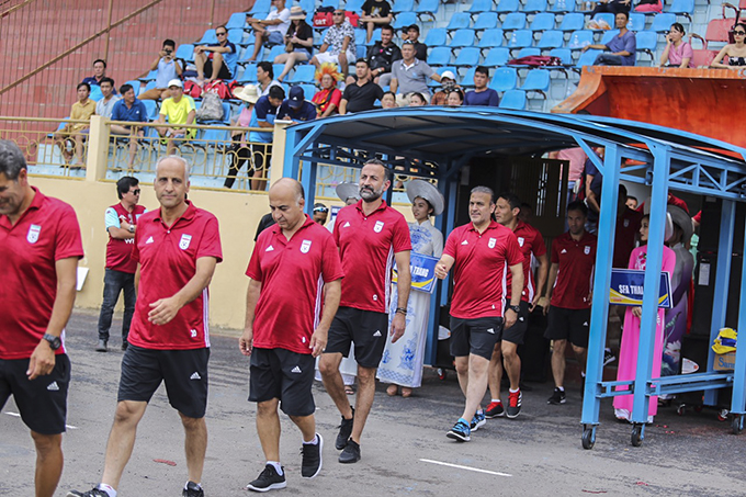 Team of Iranian former players
