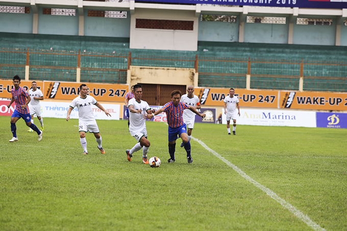 Northern Vietnam and Thailand Port playing opening match