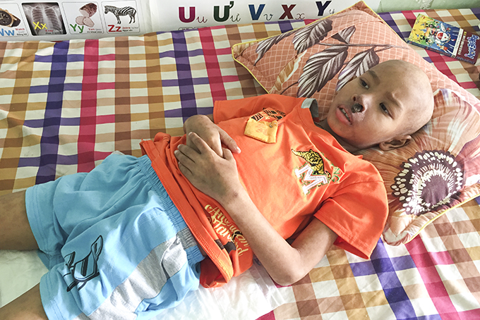 Seven-year-old boy with blood cancer in desperate need of help