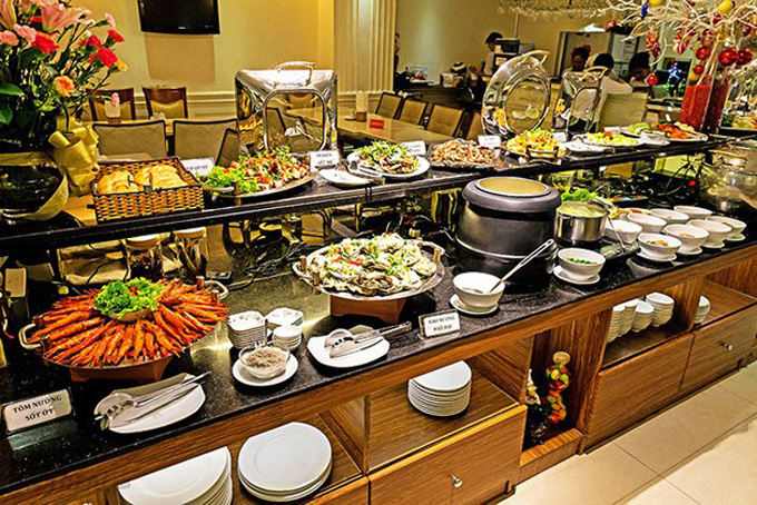 Special lunch buffet for women