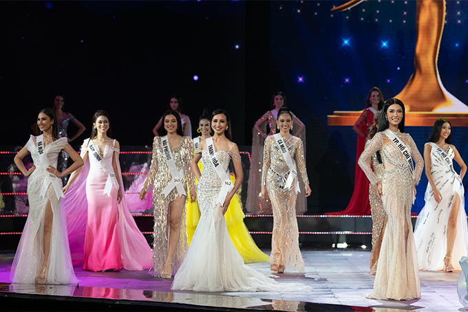 Miss Universe Vietnam 2019 semi-final in Nha Trang